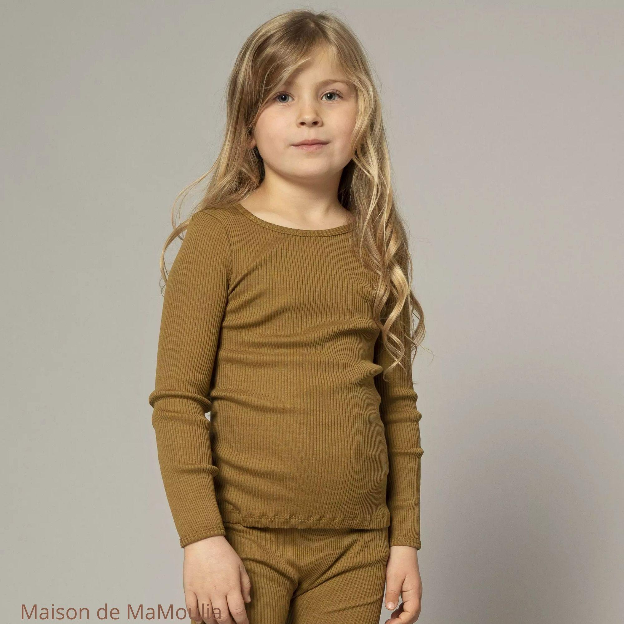 Bergen-Seaweed - tshirt-enfant-manches-longues-soie-coton-maison-de-mamoulia-minimalisma