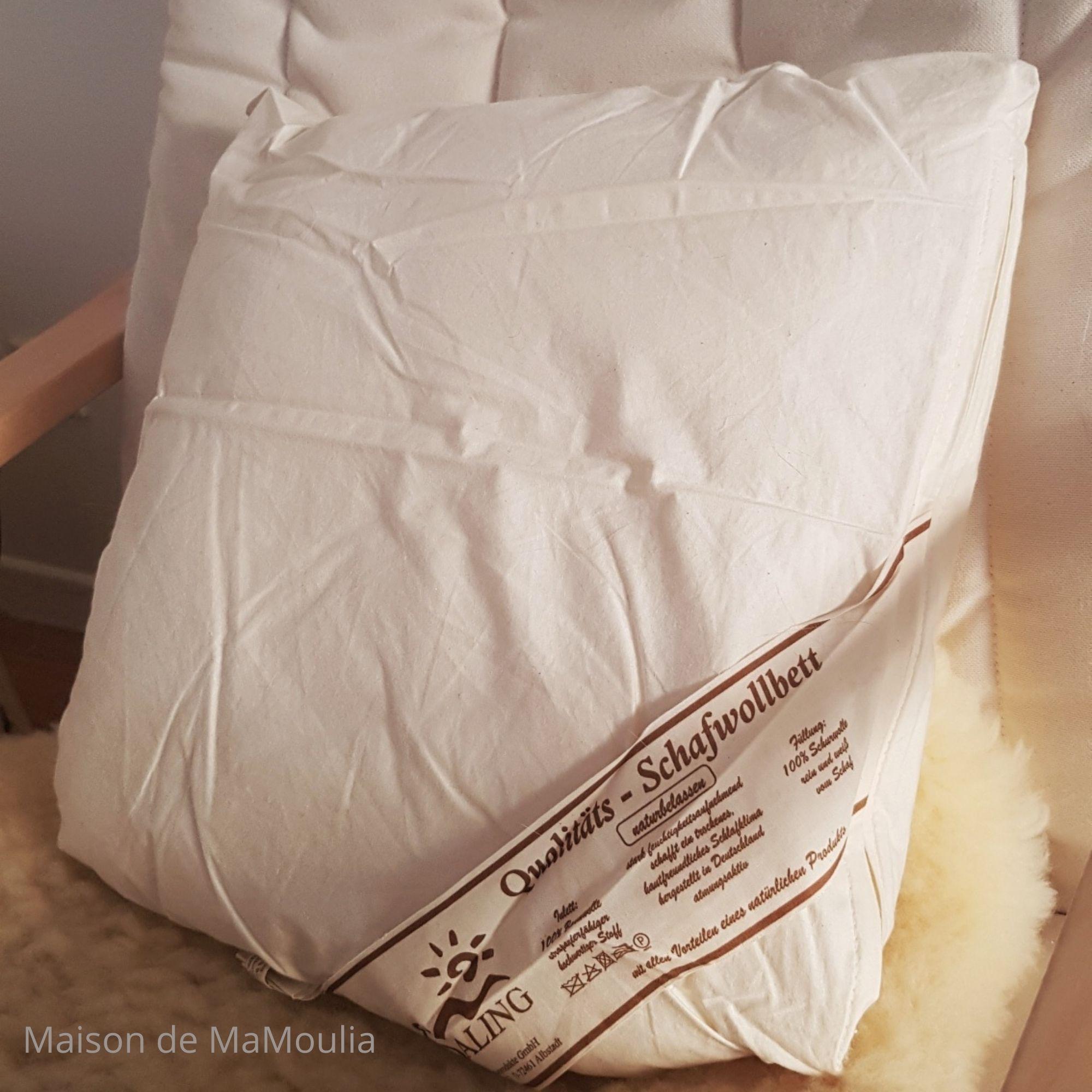 SALING - Oreiller ou coussin - Pure laine - Tailles au choix