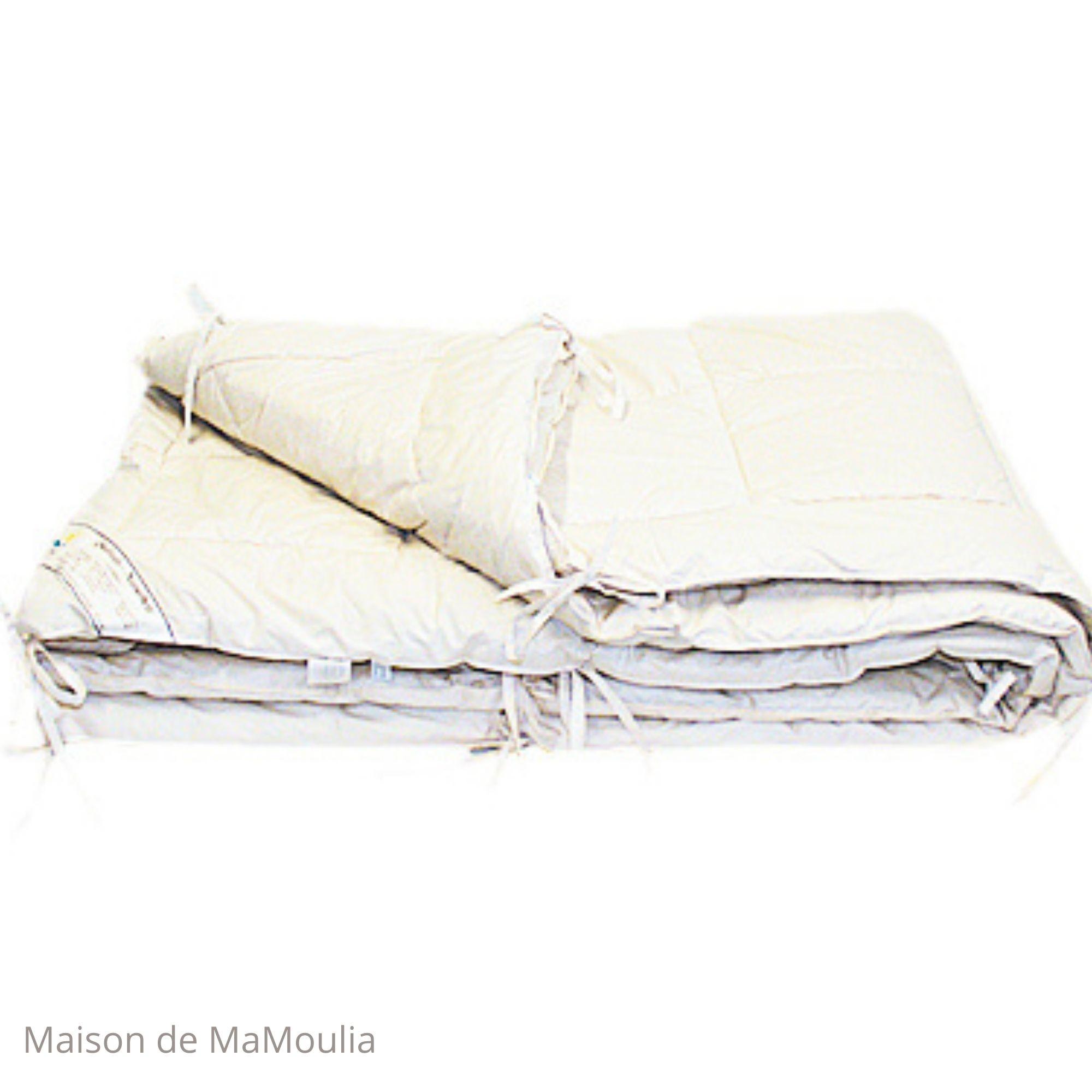 SALING-Couette 4 Saisons-Coton bio/pure laine-Tailles differentes