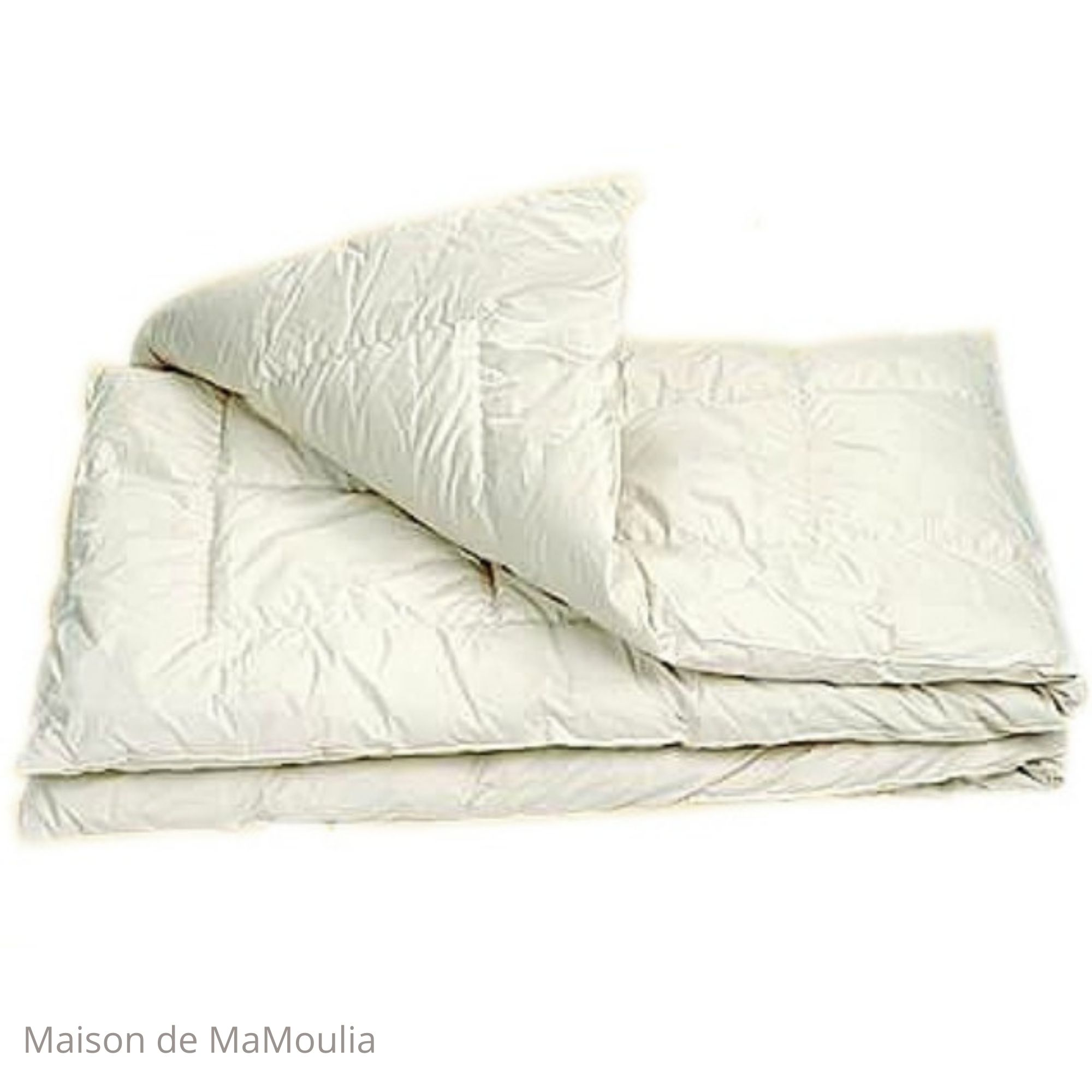 SALING - Couette - DUO - Coton bio/pure laine-Tailles differentes