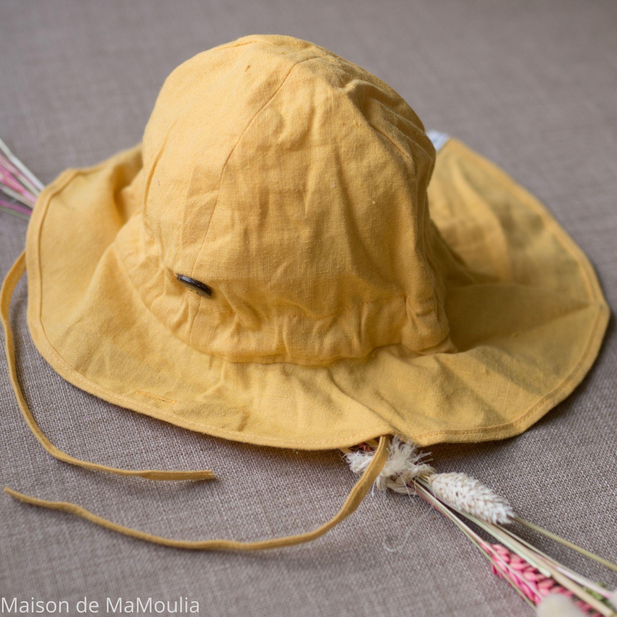 MANYMONTHS - Chapeau d\'été Ajustable - LIGHT - Iced mango