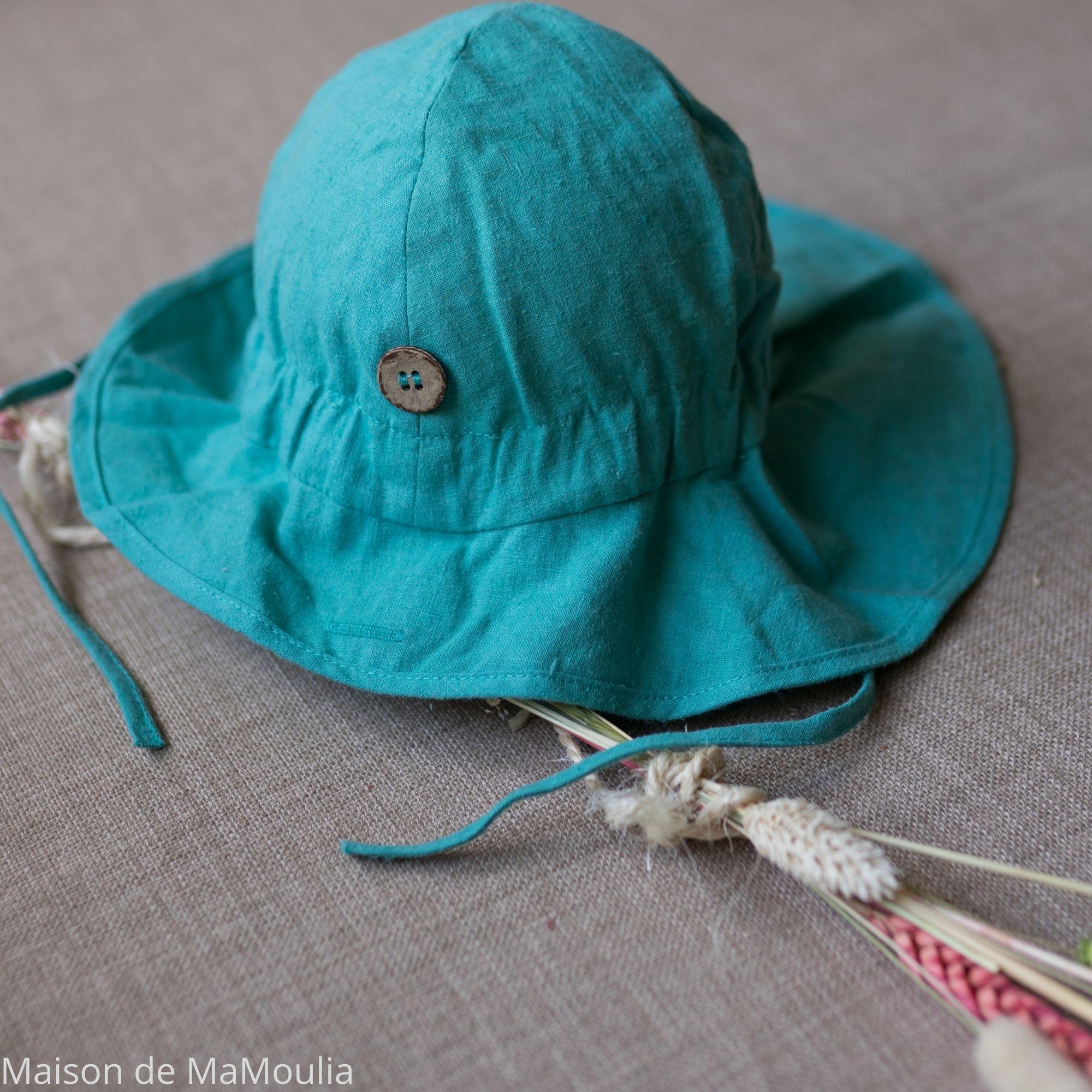 MANYMONTHS - Chapeau d\'été Ajustable - LIGHT - Seafoam Green