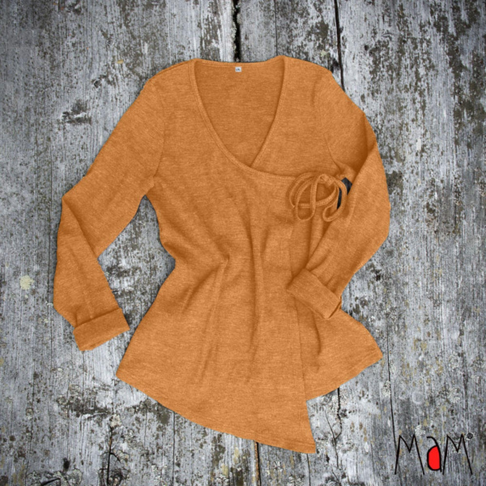 MAM - Wrap Cardigan cache-cœur - laine mérinos