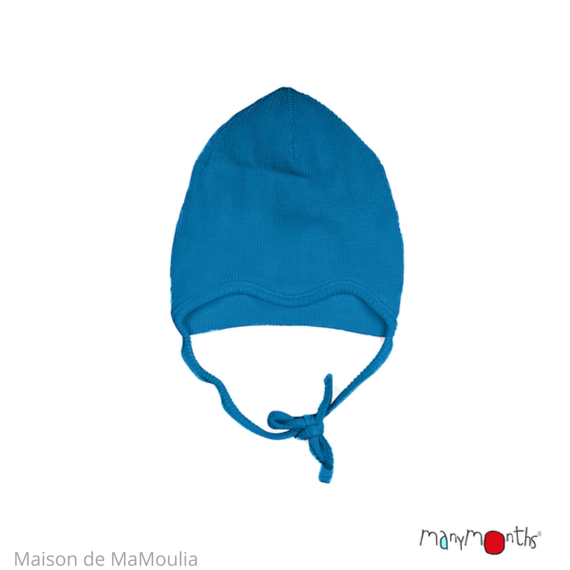 MANYMONTHS - Bonnet Évolutif pour bébé - Laine mérinos