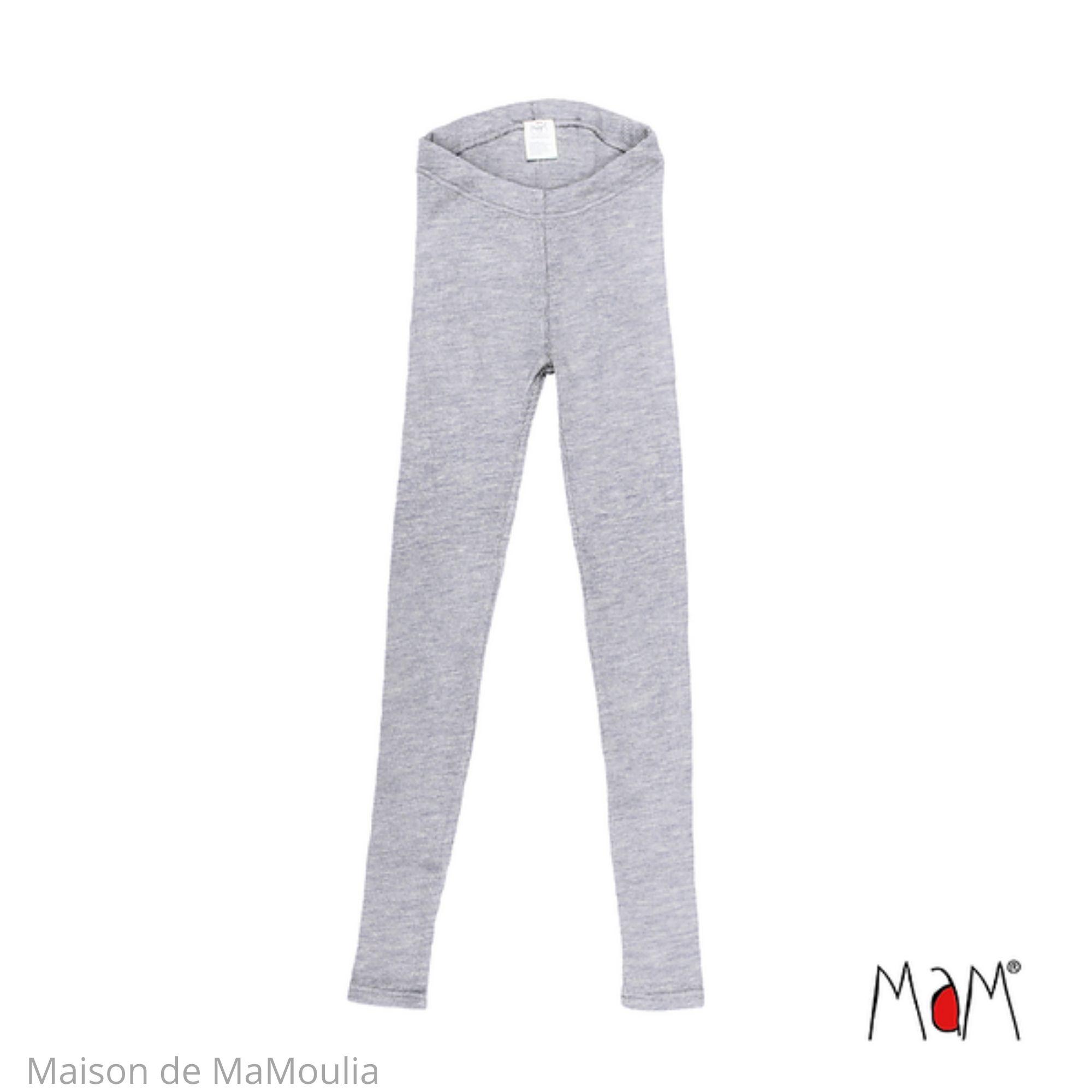 MAM - All-time Leggings pour femme et ado - laine mérinos