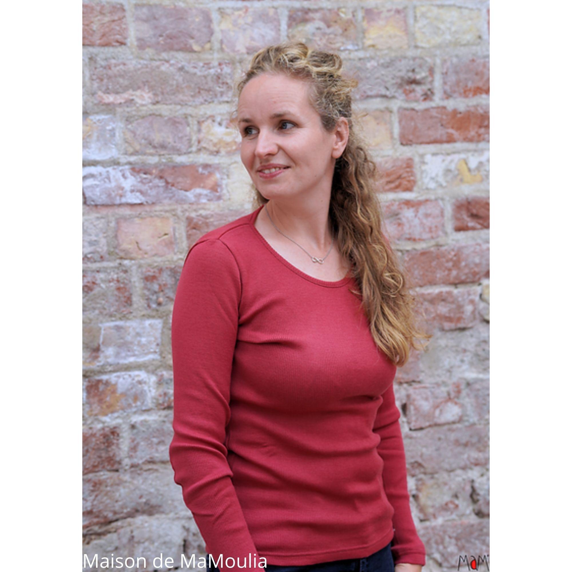 MAM - T-shirt pour femme et ados - laine mérinos