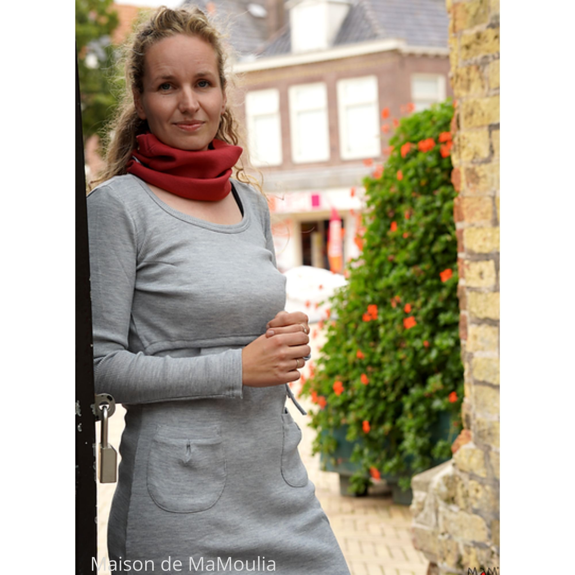 robe-tunique-motherhood-mam-pure-laine-merinos-babyidea-maison-de-mamoulia-platinum-grey-gris-