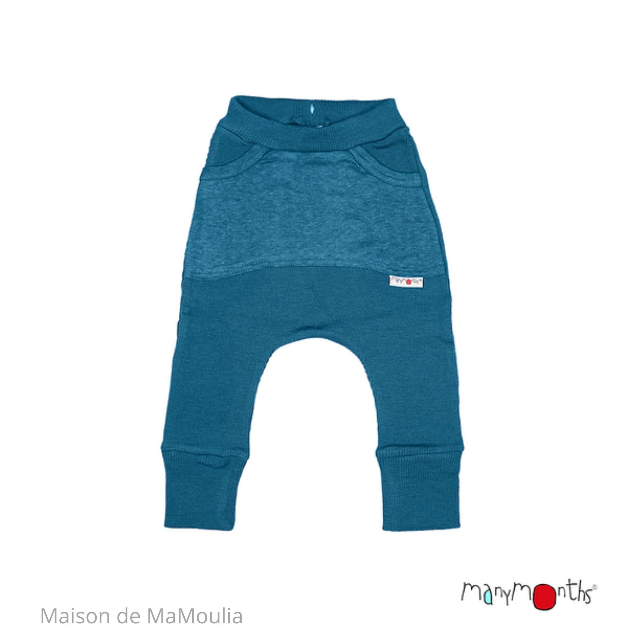 MANYMONTHS - Pantalon Kangaroo avec poche - Laine mérinos