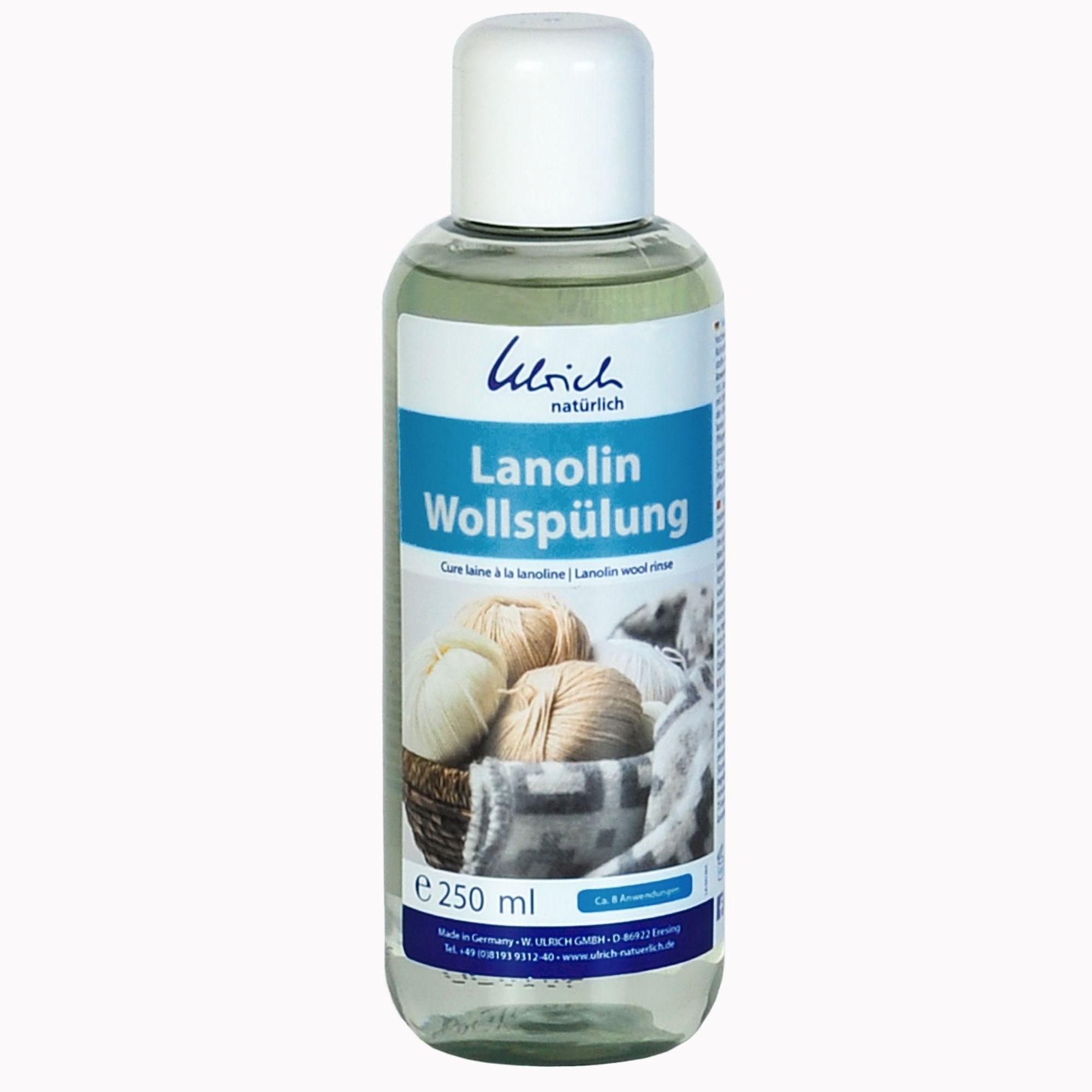 ULRICH - CURE-rinçage à la Lanoline pour vêtements en laine, 250 ml