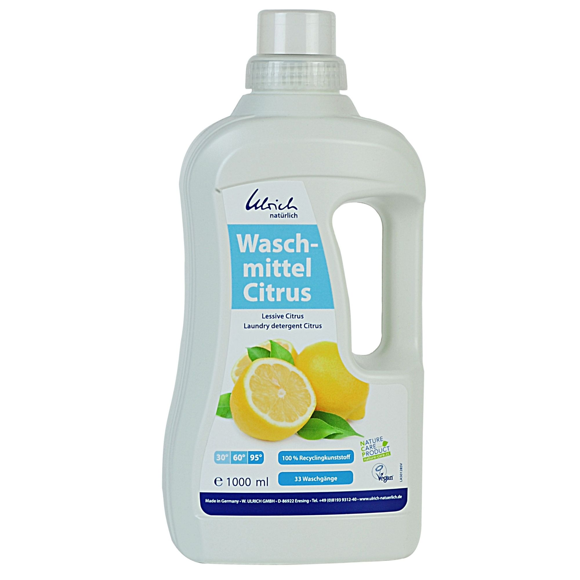 ULRICH - LESSIVE liquide classique - CITRUS, 1L