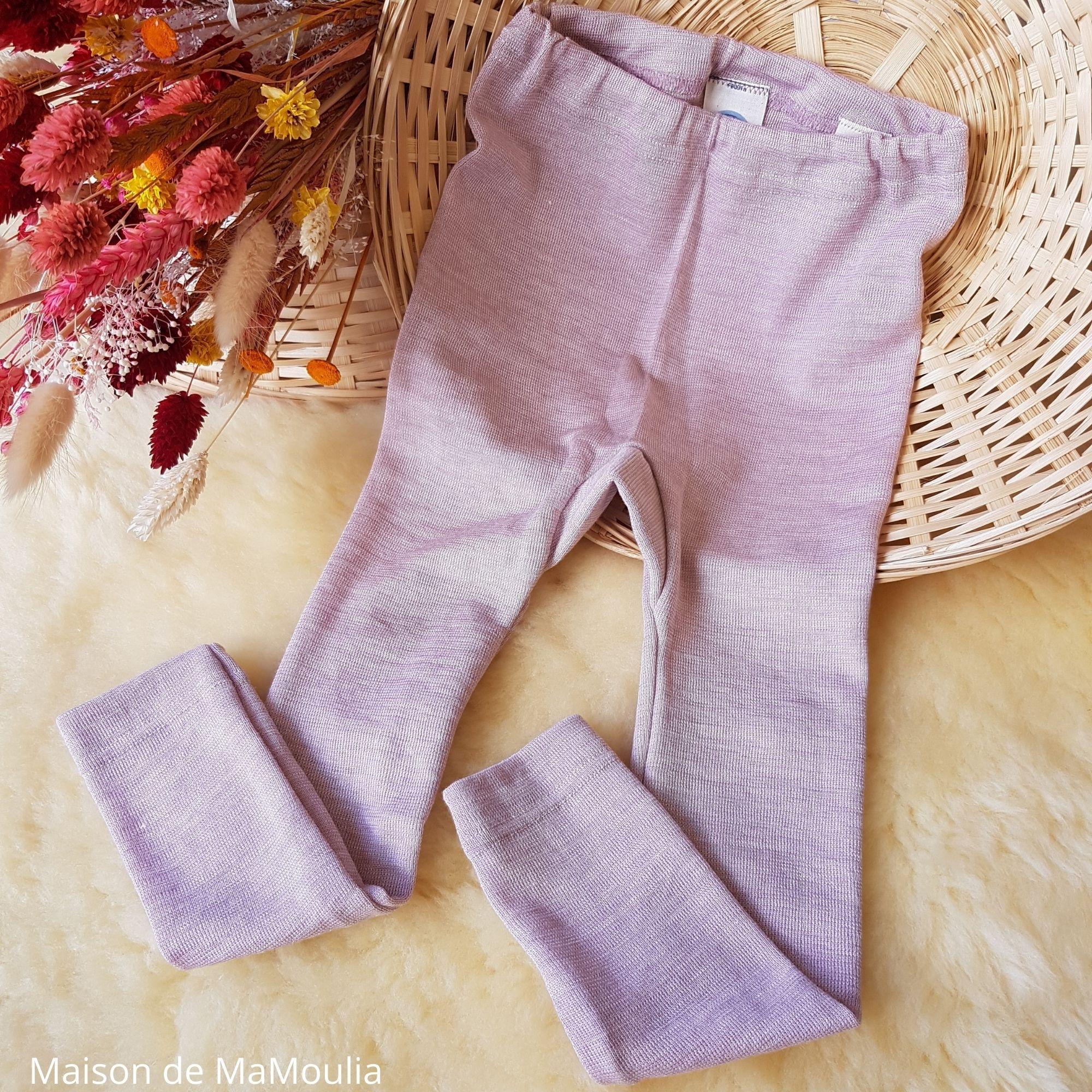 pantalon-legging-thermoregulateur-cosilana-laine-soie-enfant-maison-de-mamoulia-rose---