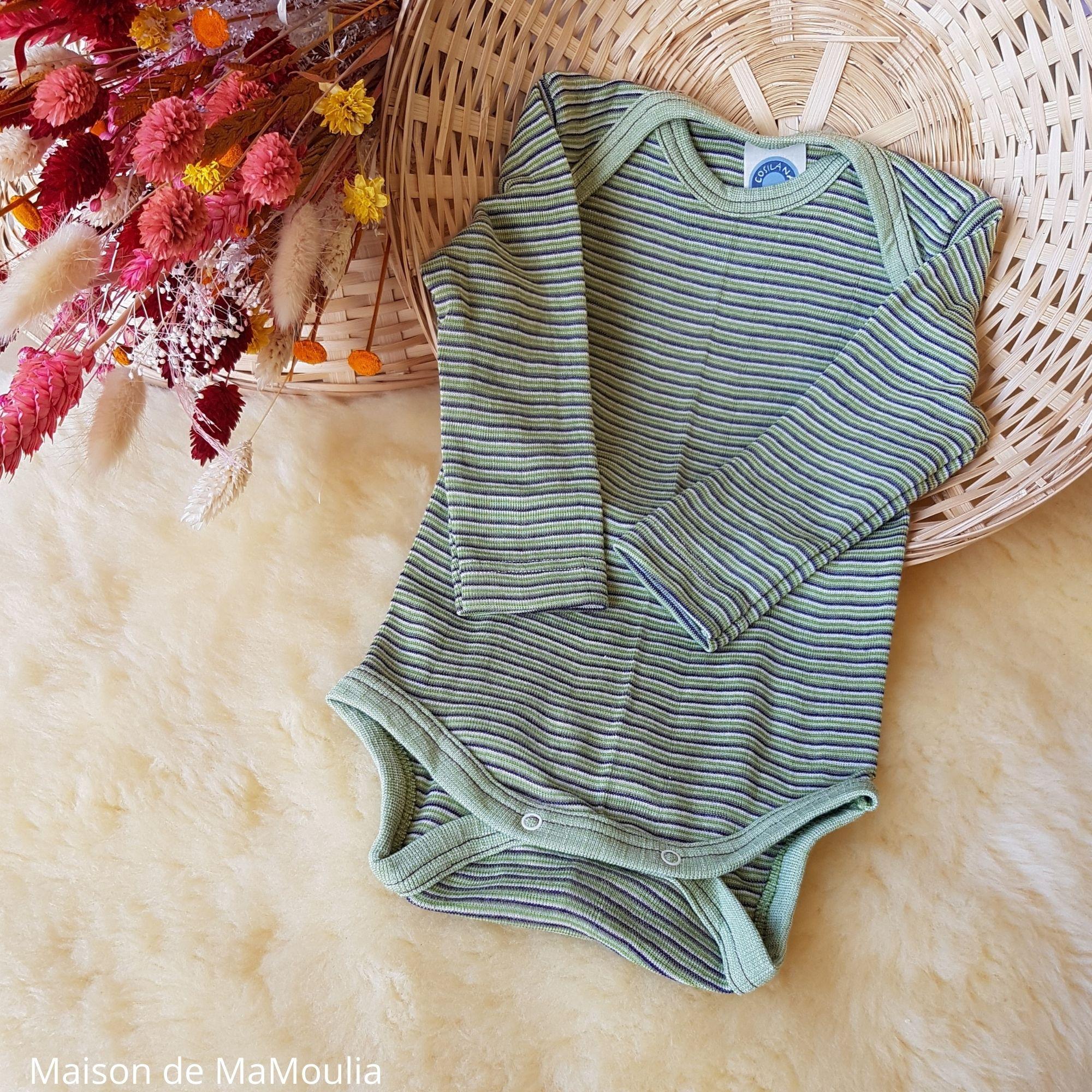 body-thermoregulateur-cosilana-laine-soie-bio-bebe-maison-de-mamoulia-rayures-vert-violet