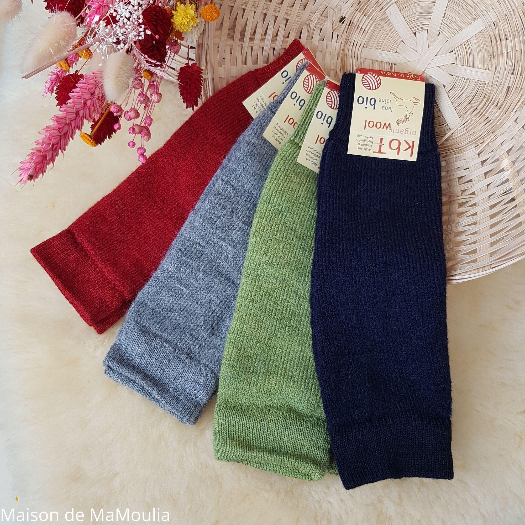HIRSCH Natur - Jambières ou mitaines - 100% laine - Enfant