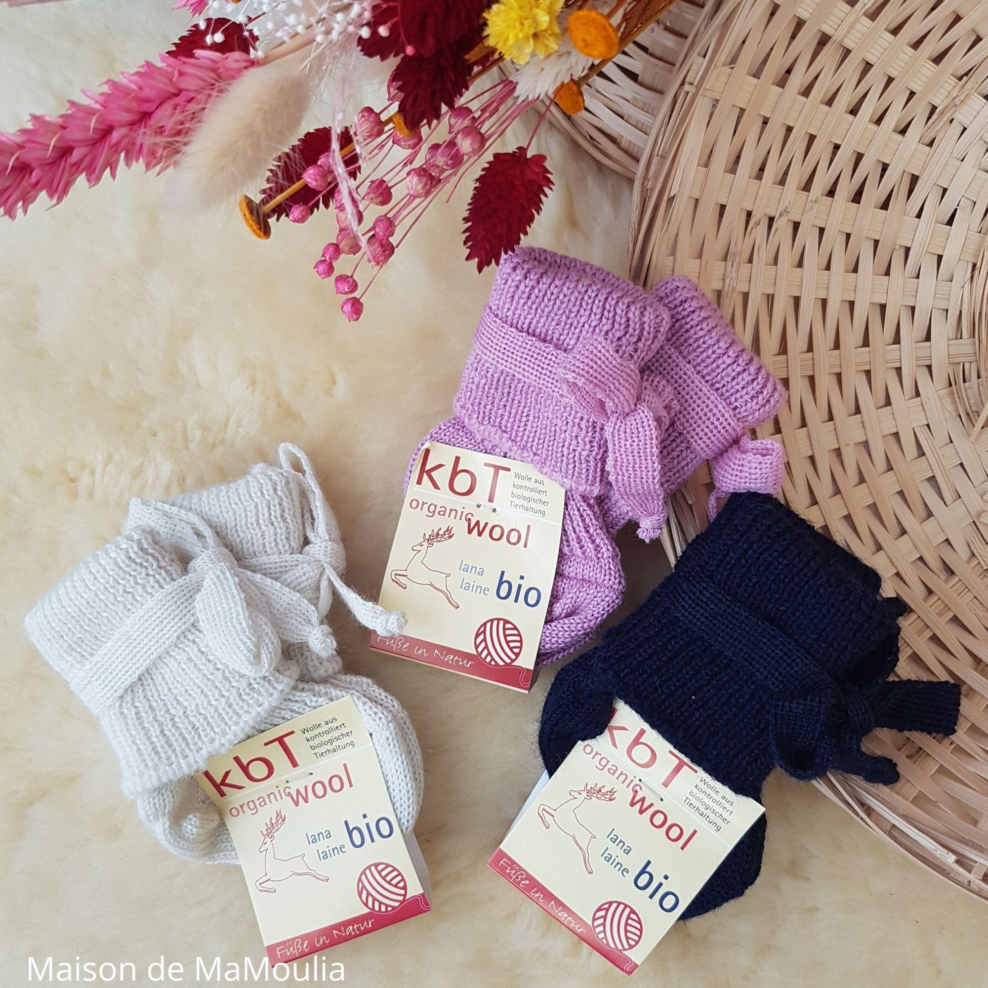 HIRSCH NATUR - Chaussettes tricotées - 100% laine - nourrisson