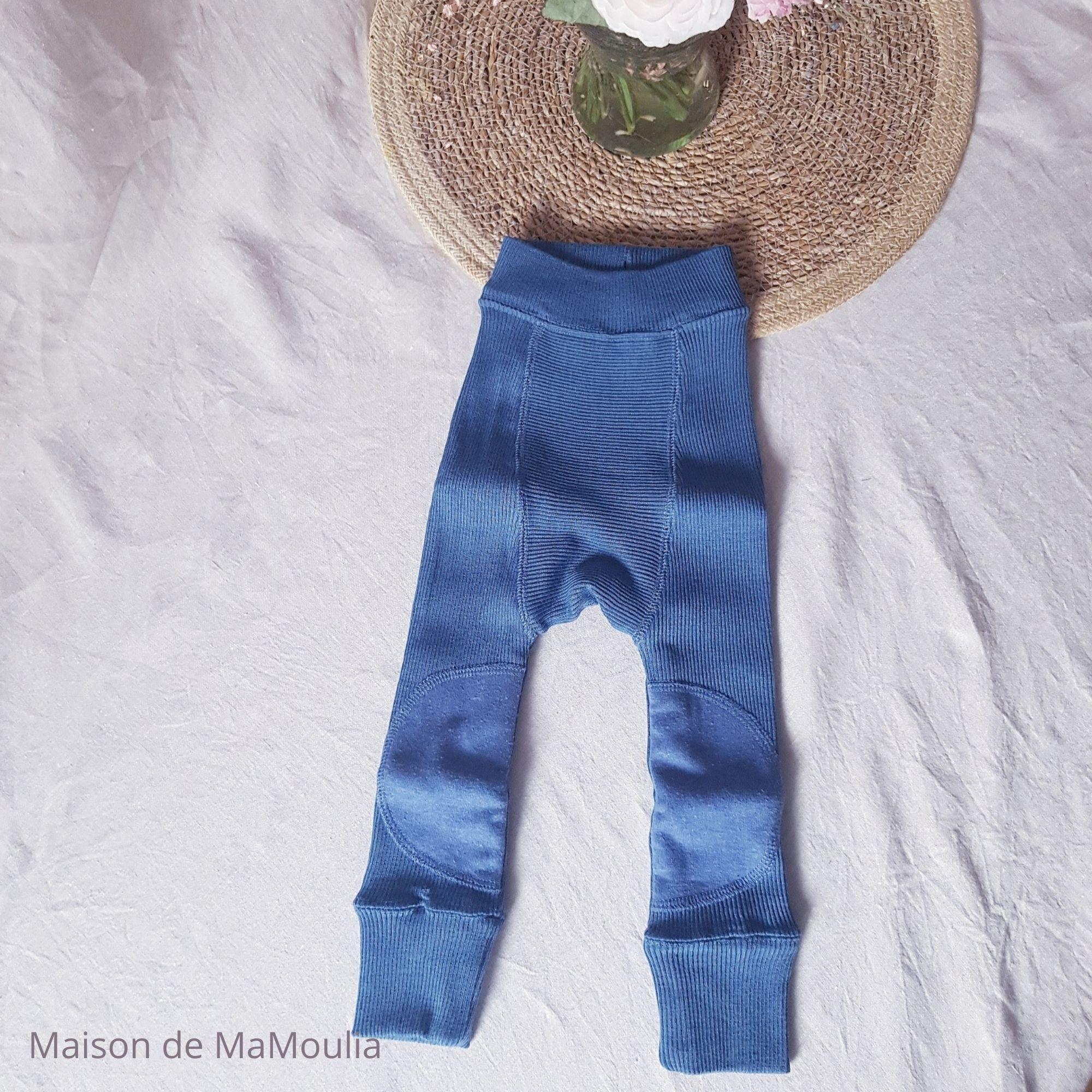 MANYMONTHS - LONGIES évolutif avec genouillères - 100% laine mérinos - COSMOS