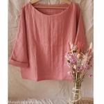 chemise-femme-pur-lin-lave-simplygrey-maison-de-mamoulia-rose-saumon