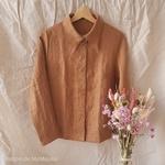chemise-femme-pur-lin-lave-simplygrey-maison-de-mamoulia-cannelle-melange