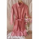 robe-femme-pur-lin-lave-simplygrey-maison-de-mamoulia-rose-saumon