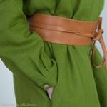 robe-chemise-femme-pur-lin-lave-français-offon-maison-de-mamoulia-vert