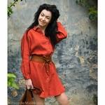 robe-chemise-femme-100-lin-lave-français-offon-maison-de-mamoulia-rouge-brique-