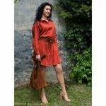 robe-chemise-femme-pur-lin-lave-français-offon-maison-de-mamoulia-rouge-brique-