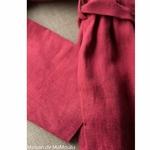 robe-midi-femme-manches-longues-col-bateau-100-lin-lave-français-offon-maison-de-mamoulia-rose-framboise-
