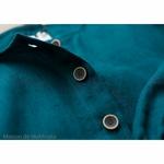 robe-midi-femme-manches-ballon-100-lin-lave-français-offon-maison-de-mamoulia-bleu-turquoise-foncé-
