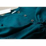 robe-midi-femme-manches-ballon-100-lin-lave-français-offon-maison-de-mamoulia-turquoise-foncé-