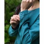 robe-midi-femme-manches-3-4-pur-lin-lave-français-offon-maison-de-mamoulia-bleu-turquoise--