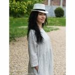 robe-midi-femme-manches-3-4-pur-lin-lave-français-offon-maison-de-mamoulia-blanche--rayures-noires