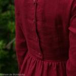 robe-midi-femme-manches-3-4-pur-lin-lave-français-offon-maison-de-mamoulia-rouge-bordeaux-