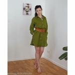 robe-chemise-femme-pur-lin-lave-français-offon-maison-de-mamoulia-vert-sapin-