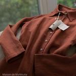 robe-chemise-femme-pur-lin-lave-simplygrey-maison-de-mamoulia-rouge-brique-terracotta