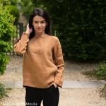 chemise-blouse-femme-pur-lin-lave-simplygrey-maison-de-mamoulia-cannelle-melangée-occre