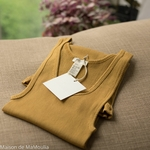 minimalisma-Golden-leaf-tshirt-debardeur-femme-soie-coton-maison-de-mamoulia-jaune-moutarde