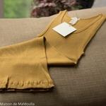 minimalisma-Golden-leaf-tshirt-debardeur-femme-soie-coton-maison-de-mamoulia-jaune-moutarde-