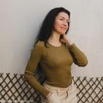 minimalisma-Gerda-Seaweed-tshirt-femme-soie-coton-maison-de-mamoulia-vert-kaki-manches-longues