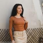 minimalisma-Gerda -Rooibos- tshirt-manches-longues-femme-soie-coton-maison-de-mamoulia-rouge-brique-terracotta