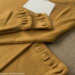 minimalisma-gerda - Golden Leaf- tshirt-top-femme-manches-longues-soie-coton-maison-de-mamoulia-jaune-dore-