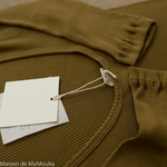 minimalisma-Gym -Seaweed- tshirt-manches-courtes-femme-soie-coton-maison-de-mamoulia-vert-kaki-algue---