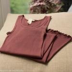 minimalisma-Gry- Mahogany -robe-debardeur-femme-soie-coton-maison-de-mamoulia-bourgundy