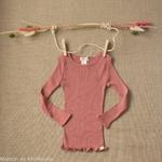 minimalisma-Bergen-antique-red-tshirt-manches-longues-enfant-soie-coton-maison-de-mamoulia-rose