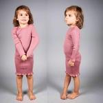 bina- Antique Red -robe-fille-soie-coton-maison-de-mamoulia