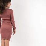 bina- Antique Red - robe-fille-soie-coton-maison-de- mamoulia