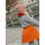 jupe-fille-enfant-disana-laine-bouillie-maison-de-mamoulia-orange-