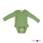 40401_ManyMonths Natural Woollies Kimono BodyShirt with Foldover Sleeves Jade Green_1500px-L