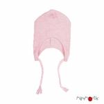 bonnet-bebe-avec-attaches-evolutif-pure-laine-merinos-manymonths-maison-de-mamoulia-stork-pink-rose