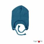 bonnet-bebe-avec-attaches-evolutif-pure-laine-merinos-manymonths-maison-de-mamoulia-mykonos-waters-bleu