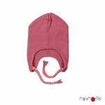 bonnet-bebe-avec-attaches-evolutif-pure-laine-merinos-manymonths-maison-de-mamoulia-earth-red-rose