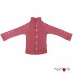 gilet-cardigan-avec-col-bebe-enfant-evolutif-pure-laine-merinos-manymonths-maison-de-mamoulia-earth-red